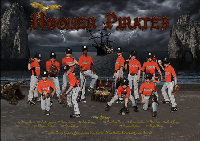 Hoover Pirates – 2015 Team Poster