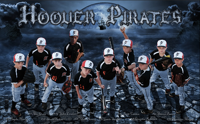 Hoover Pirates – 2016 Team Poster