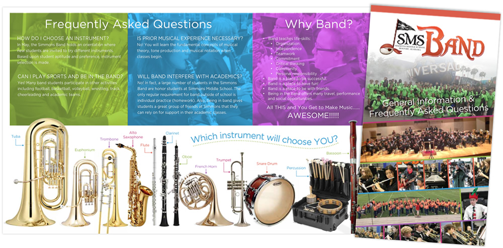 Simmons Band Recruitment Brochure