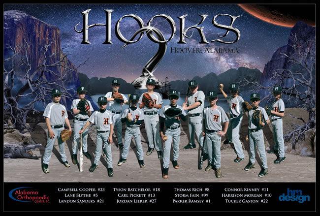 Hoover Hooks – 2017 Team Poster